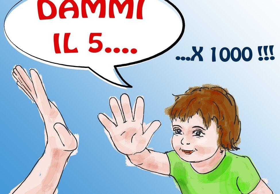 Dona il 5×1000 alla scuola dell'infanzia