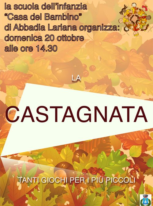 Castagnata 20 ottobre