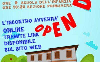 Open day online – sabato 28 novembre